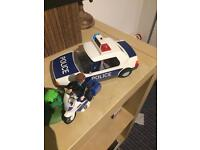 Playmobil police station and extras