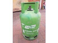 Flo Gas Bottle Cylinder (Empty) 11Kg Propane Leisure Gas Patio Heater