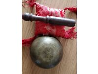 Small Tibetan Bowl with Mallet