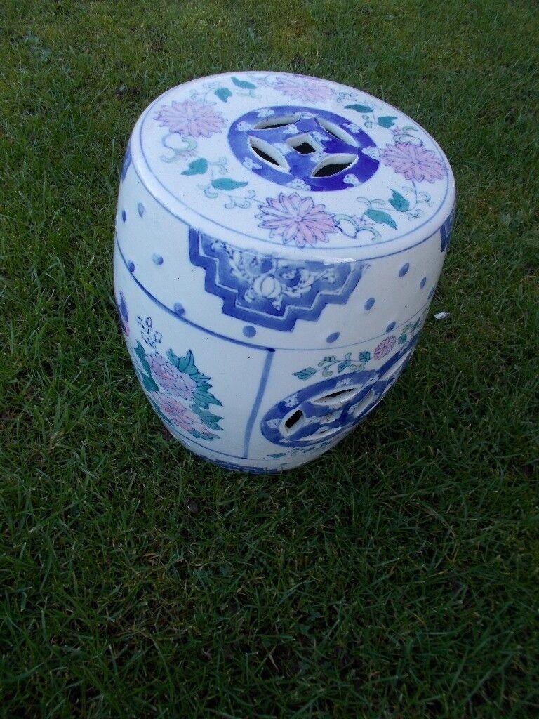 Vintage Oriental Ceramic Stool In Copmanthorpe North Yorkshire Gumtree