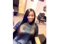 Good black hairdresser London, hair extensions, weave -