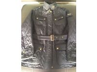 Ladies Barbour International Polarquilt Jacket, Navy, size 20, as new, worn a few times