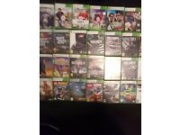 Xbox 360 4 controlers and over 30 games