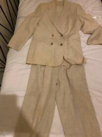 £10 Size 12 Women's Trouser Suit