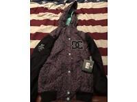 Dc Snowboarding jacket brand new