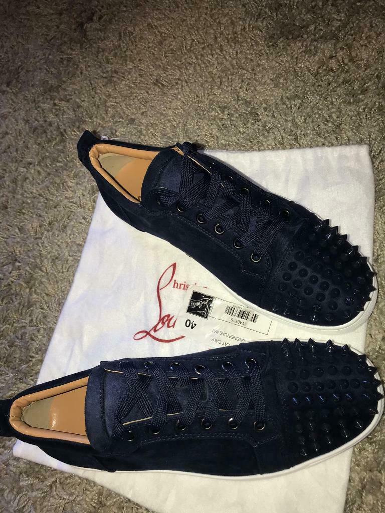 design intemporel 56280 1b2ee Mens Christian Louboutin low | in Moseley, West Midlands ...