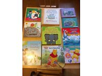 10 baby/toddler books in very good condition