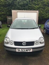 2003 VW Polo 1.4tdi