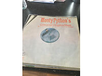 Monty Python Collection 7 vinyl LP's
