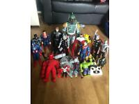DC figures & remote control Star Wars & ghostbusters
