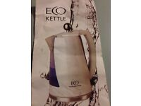 Eco friendly water kettle - only boil as much water as you need!
