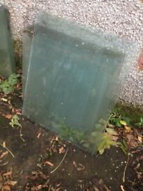 Greenhouse Glass, various sizes