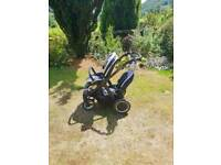 Oyster Max tandem/double pushchair
