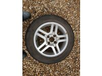 Tyre and Alloy Wheel (Ford Focus)