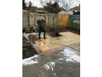 Patio/ driveway jet wash cleaning service