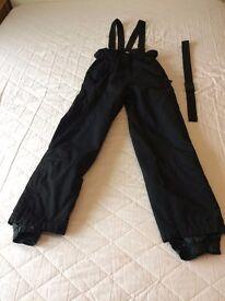 Icepeak salopettes/ski trousers, medium, black