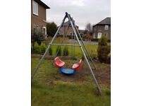 TP Two Seater Garden Swing
