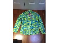 Reebok ladies small wind jacket, brand new with tags