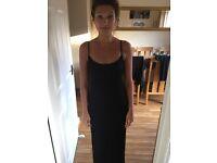 Black Top Shop gown - size 12