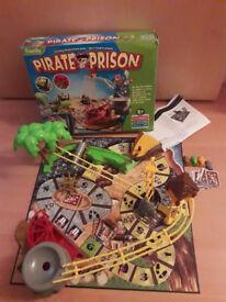 Family kids pirate board game