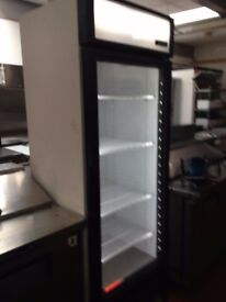 True 1 Glass Door 538L Upright Display Fridge Aluminium GDM-19T ( Brand New )