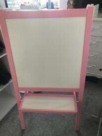 Ikea Pink Easel