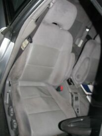 Subaru Forester Turbo S Front & Rear Half Leather Seats