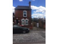 2 x 1 bed room self contained flats detached property