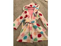 M&S Hello kitty night dressing gown , age 3-4 years
