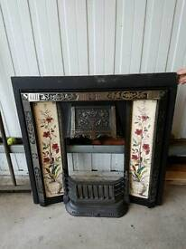 Cast Iron Fireplace inset