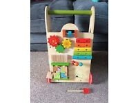 Wooden EverEarth baby walker - excellent condition