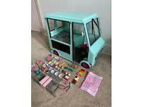 Next generation dolls ice cream van truck