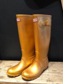Gold hunter welly boots wellies uk 4 37