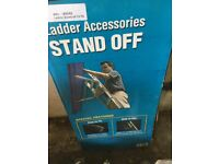 Ladder stand off attachment