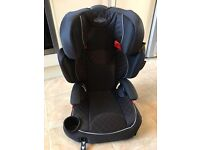 Graco kids car seat. High back booster seat, with adjustable height. Ideal for kids 4-11 years.