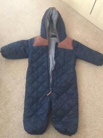 Next snowsuit/all in one 12-18