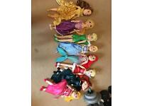 Set of Disney soft toys