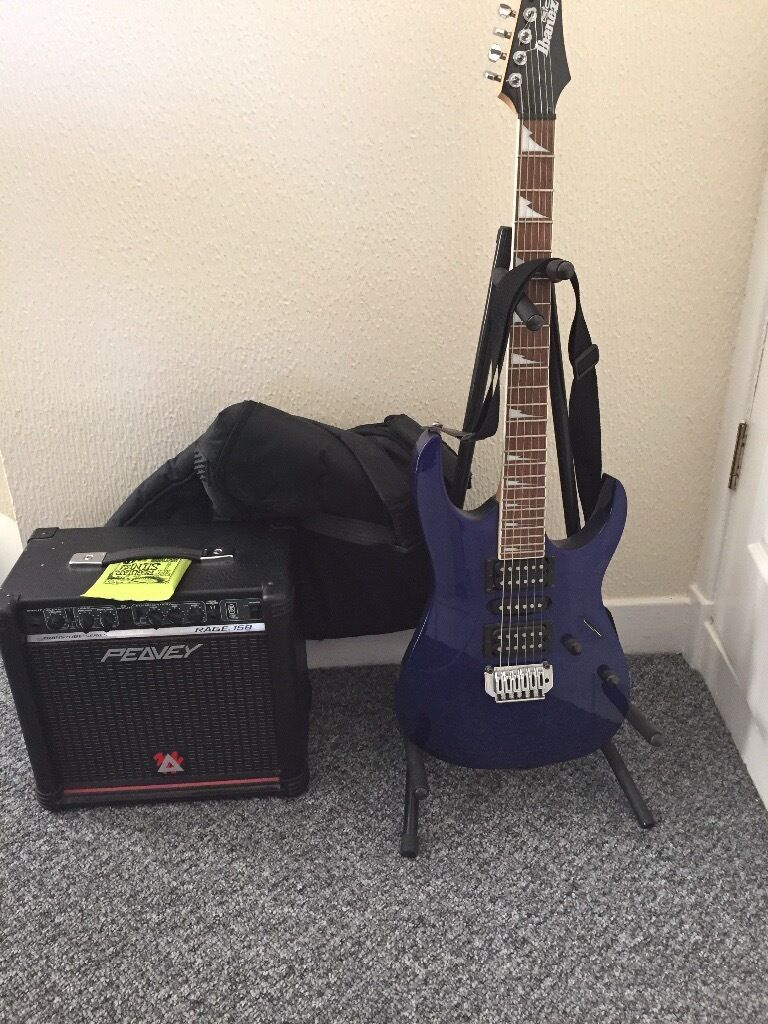 Ibanez GRG170DX electric guitar for salein DundeeGumtree - Ibanez electric guitar for sale great condition comes with amp, guitar stand and guitar carry bag, selling due to not being used now. Text, call or email me if intrested. Can be delivered