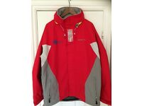 Waterproof sailing garments by Henri Lloyd, various sizes available, used maximum of 4 times.