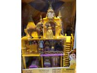 Disney store belle castle playset