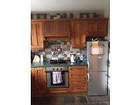 Pine kitchen and appliances