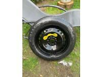 "Volvo 16"" Space Saver Wheel 4.00Bx16 ET25 2160827 5 Stud"