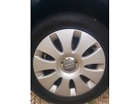 Audi A3 Alloy Wheels With Nearly New Tyres