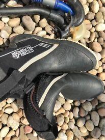 Gil neoprene diving boots