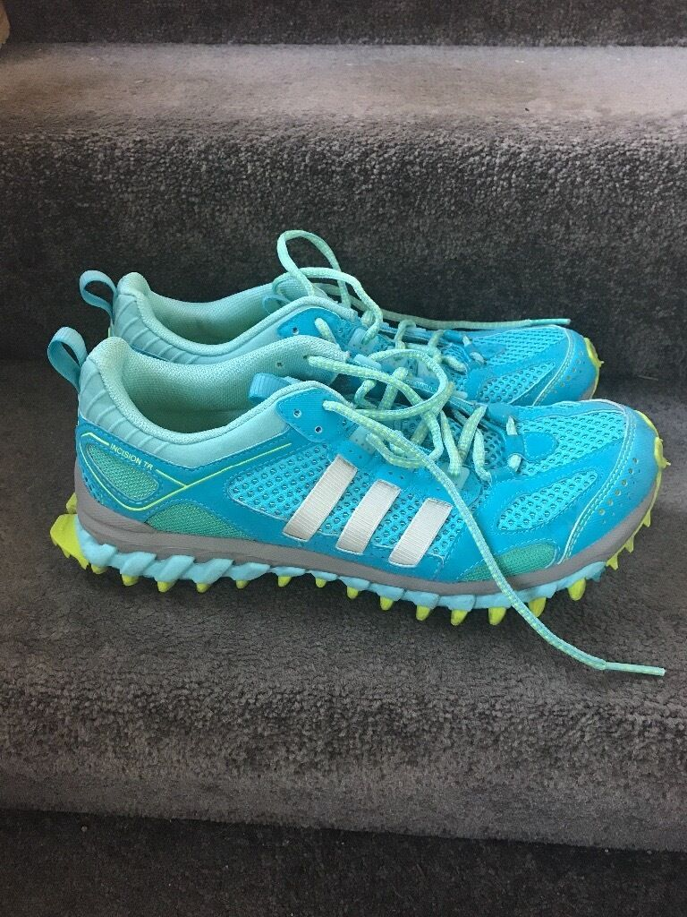 Adidas running trainersin Perth, Perth and KinrossGumtree - Great trainers, size 7.5 but fit a normal 7, barely worn and exceptionally comfy for running/working out in. Pick up craigie )