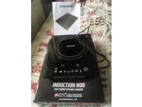 Slater induction hob excellent for students or at christmas