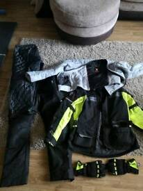 Richa touring gear (jacket, trousers and gloves)