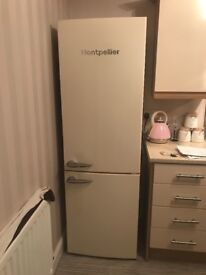 Montpellier cream fridge freezer in great condition only 6 months old.