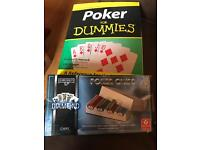 Poker Chips and Book