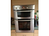 Indesit electric double oven grill